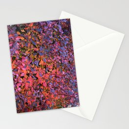 Colorful Fall Leaves Stationery Cards