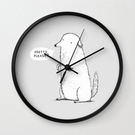 Pretty Please? Wall Clock