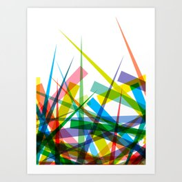 Spiky Garden Art Print