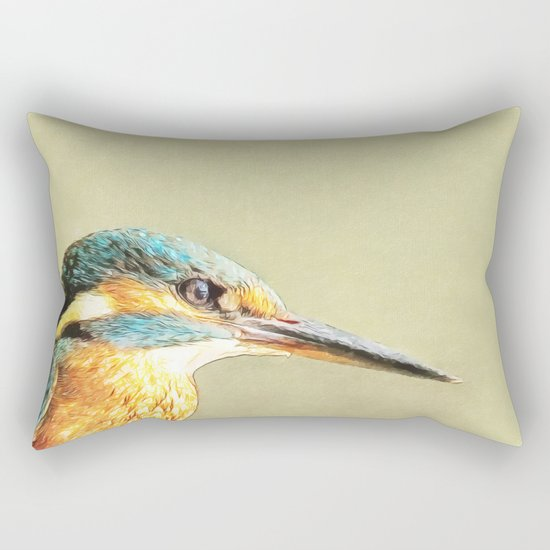 KINGFISHER - Stop And Stare Rectangular Pillow