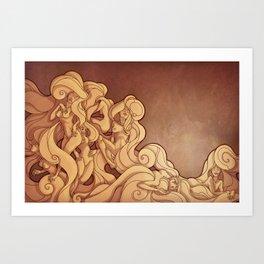 Muses II Art Print