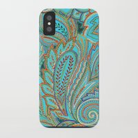 paisley iPhone & iPod Cases featuring paisley, paisley by Ariadne