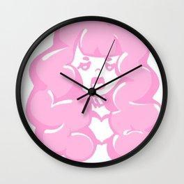 Bubblegum Babe Wall Clock