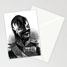 WRESTLING MASK 8 Stationery Cards