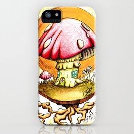 Home is Magic iPhone Case