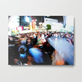 shibuya crossing Metal Print