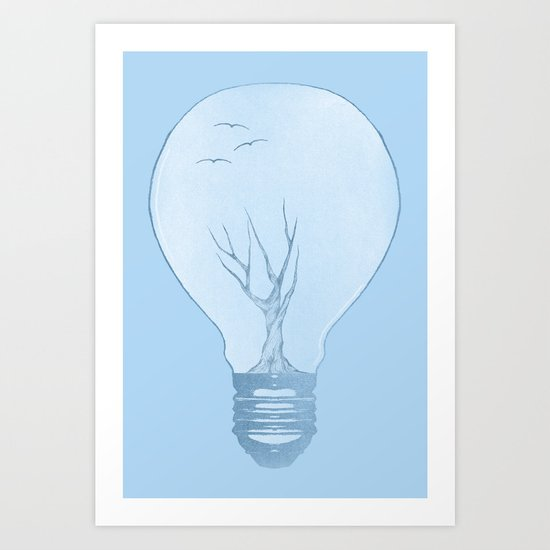 Ideas Grow Art Print