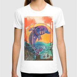 Fantastic animal - Little dolphin - by LiliFlore T-shirt