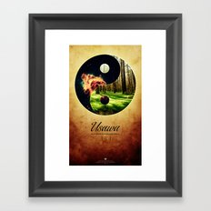 Usawa Framed Art Print