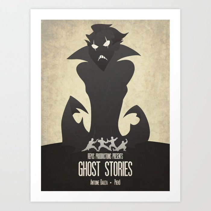 Ghost Stories - Minimalist Board Games 11 Kunstdrucke