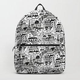 Paris Streets Backpack