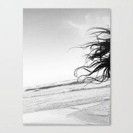 Tulum Hair Canvas Print