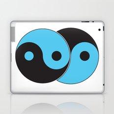 Reflections of Yin and Yang Laptop & iPad Skin
