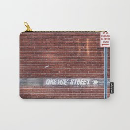 One Way Street - Street Signs Carry-All Pouch
