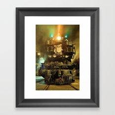 UP 9000. Union Pacific. Steam Train Locomotive. © J&S Montague. Framed Art Print