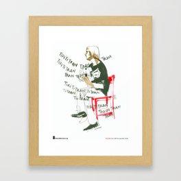 "Inma Serrano, ""Guitarra"" Framed Art Print"