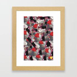 bb9d08640 YZY x LV Framed Art Print