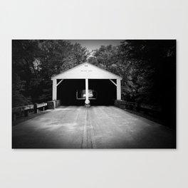 B&W Bridge Canvas Print