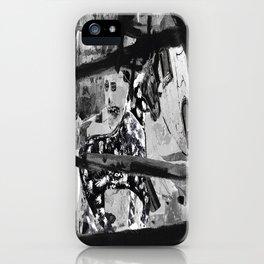 Kline horse iPhone Case