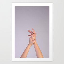 Hand Up Art Print