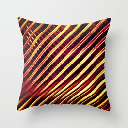 High Frequency Throw Pillow