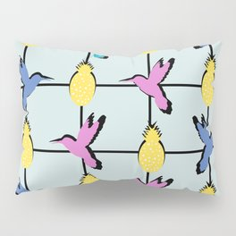 Hummingbirds and pineapples Pillow Sham