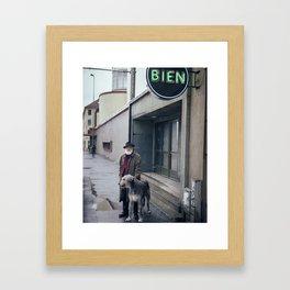 Finn & Zhivago Framed Art Print