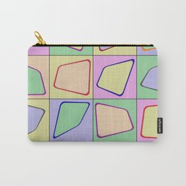 Retro Pastel Mix Carry-All Pouch