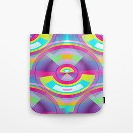 Pop Art Sphere Tote Bag