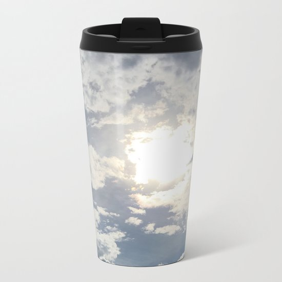 Sky Views Metal Travel Mug