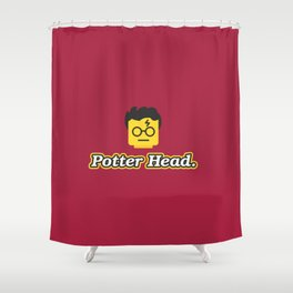 Potter Head Shower Curtain