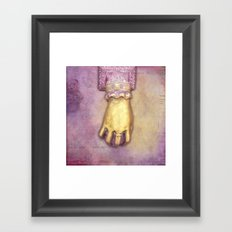 GOLDFINGER Framed Art Print