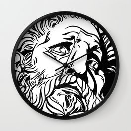 To Elysium Wall Clock
