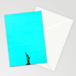 Statue De La Liberte Stationery Cards