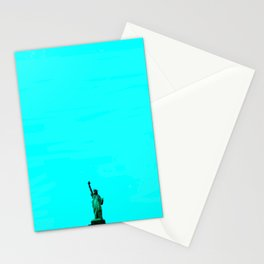 Statue De La Liberte Stationery Cards