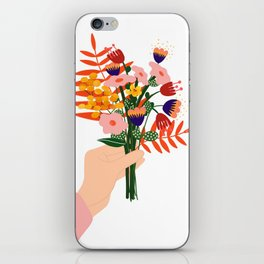 Some flowers for you  iPhone Skin