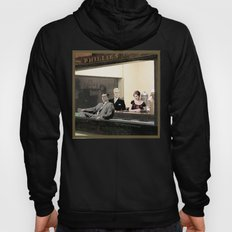 mad men characters are Hopper's Nighthawks Hoody