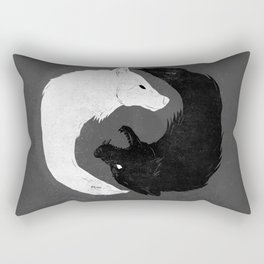 Feed the Wolves Rectangular Pillow