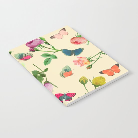 Las Rosas & Mariposas II Notebook