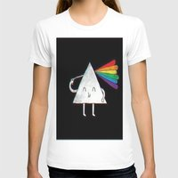 dark side of the moon T-shirts featuring dark side of the moon by Iotara