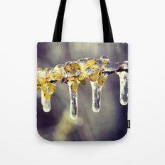 Freezing Rain Tote Bag