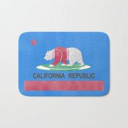 Polar Bear In California Bath Mat