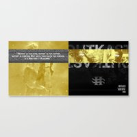 outkast Canvas Prints featuring Aquemini by Tanneray