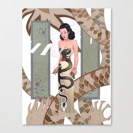 Dragon Lady Canvas Print