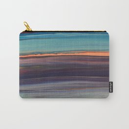 Rainbow Particle Wave Carry-All Pouch