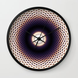 Spirals Wall Clock
