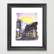 New Orleans at Sunset Framed Art Print