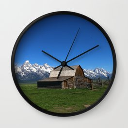 Historic Moulton Barn Wall Clock