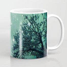 Aqua Skies N Stars Through The Trees Coffee Mug