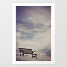 Ω Waiting Room Ω  Art Print